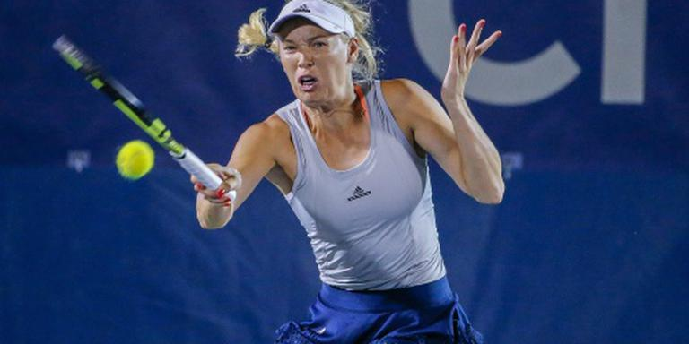 Tennisster Wozniacki opnieuw geblesseerd
