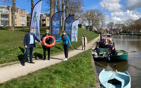 Maritieme Academie Harlingen wint Skjin Wetterpriis: een bootje geprint van opgeviste plastic troep