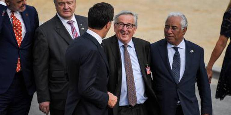 Juncker gaat niet in op 'gezondheidsprobleem'