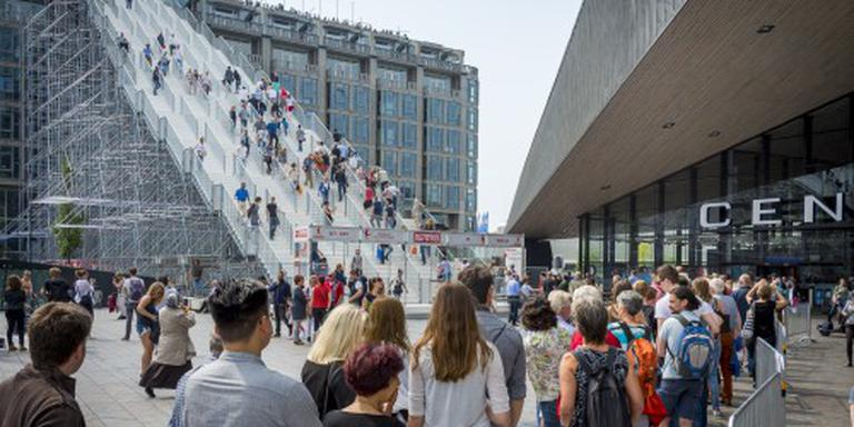 Rotterdamse trap blijft langer staan