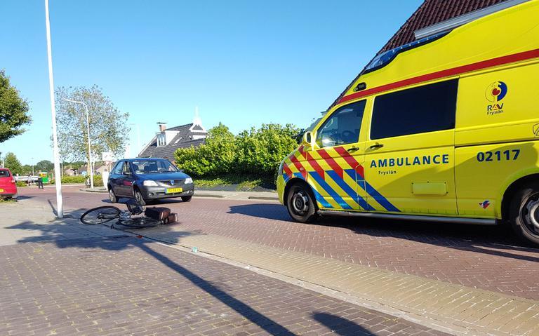 Fietsster aangereden in Dokkum.