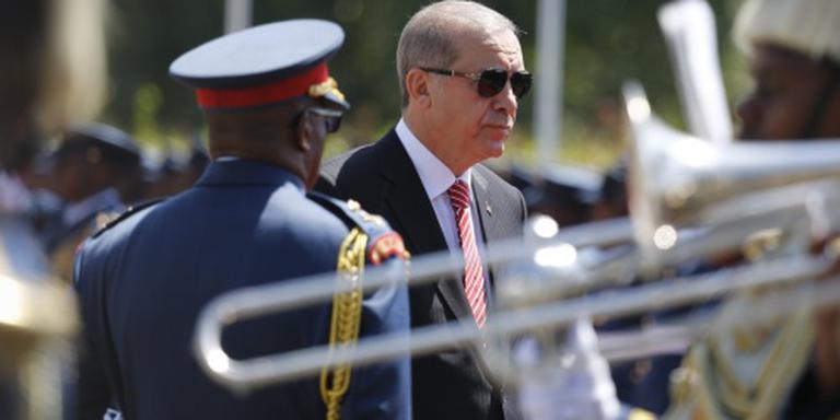 Erdogan aangeklaagd wegens oorlogsmisdaden