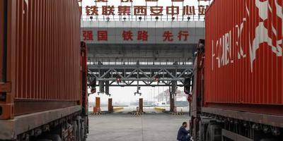 Veel meer vrachttreinen van China naar Europa