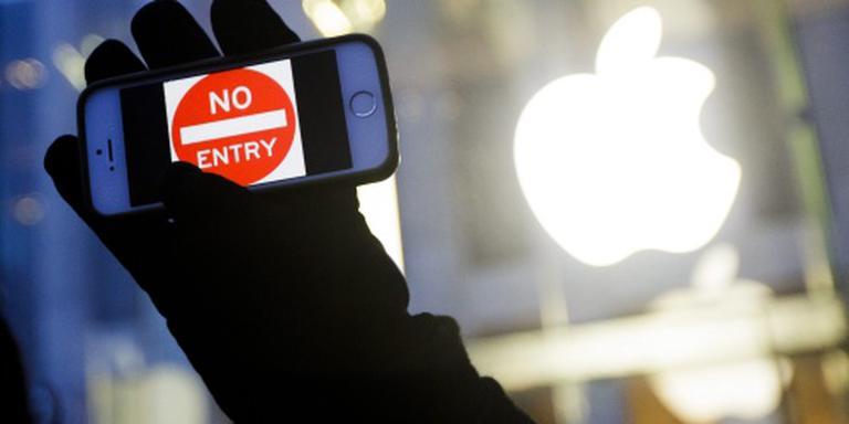 Rechter verbiedt deblokkeren iPhone