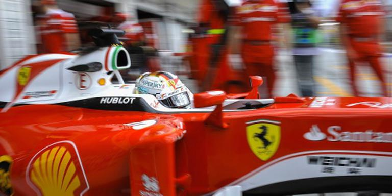 Ferrari likt wonden in de zomer