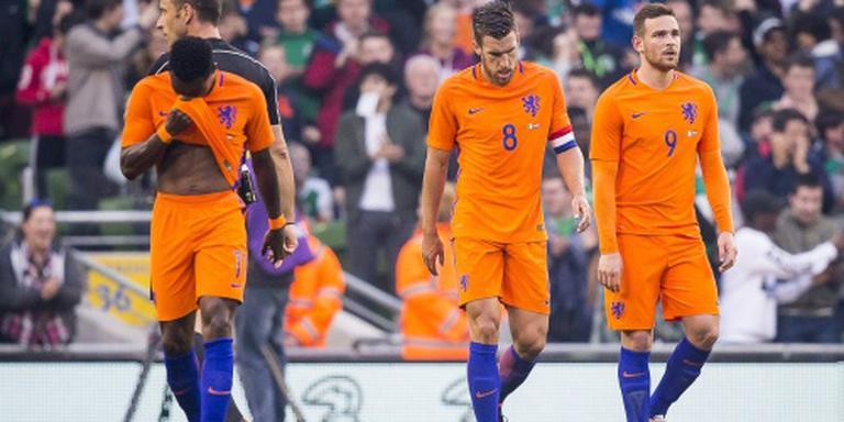 Invaller De Jong voorkomt nederlaag Oranje