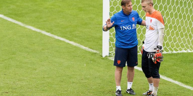 Keeperstrainer Frans Hoek terug bij Oranje