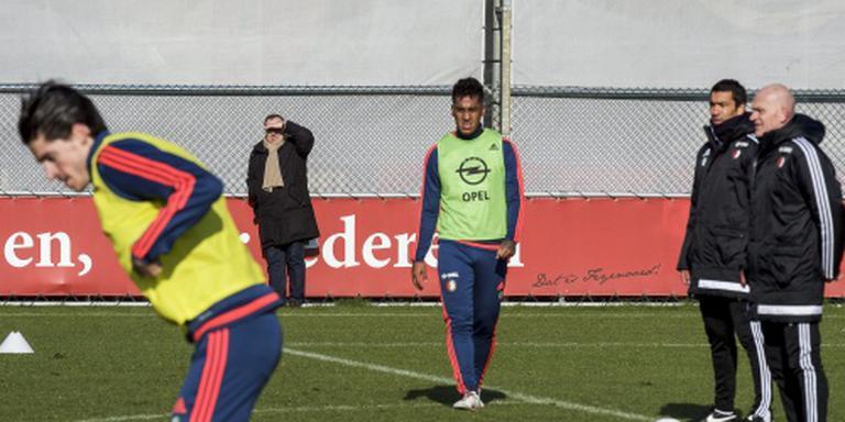 Tapia terug bij Feyenoord voor stadsderby