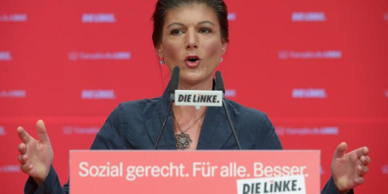 Wagenknecht predikt zelfstandigheid Linke