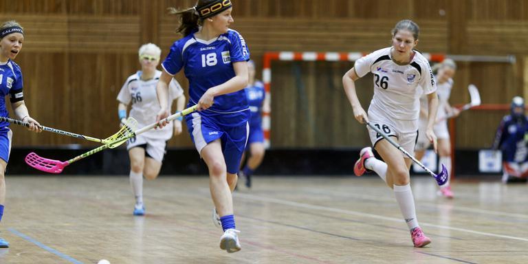 Floorball verovert de sportvloer