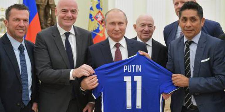 Poetin: beter imago Rusland door WK