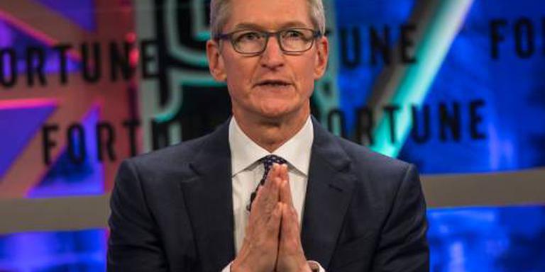 Trump dineert met topman Tim Cook van Apple