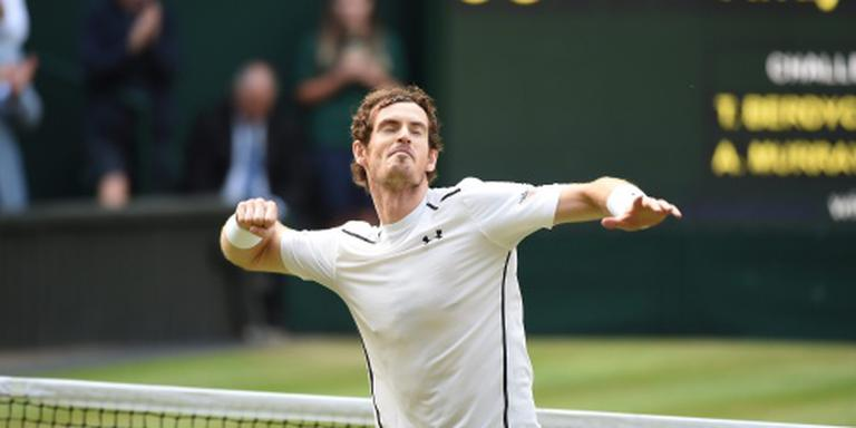 Murray kan Wimbledon voor tweede keer winnen