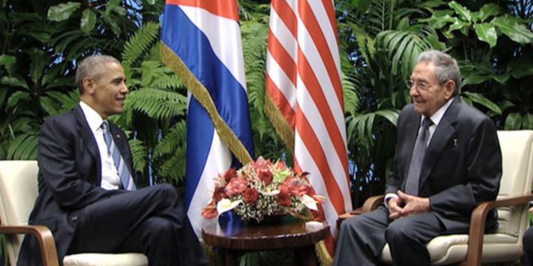 Castro: verschillen VS en Cuba blijvend