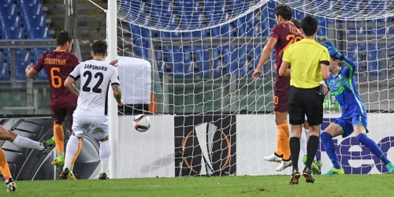 Strootman scoort en wint met AS Roma