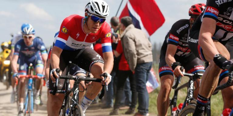 Niki Terpstra wint Dwars door het Hageland