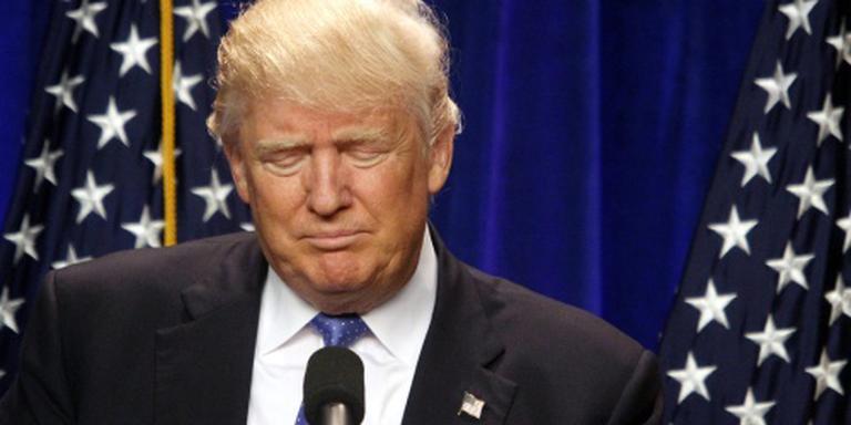 Trump stelt persconferentie uit wegens Nice