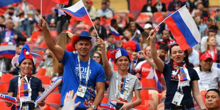 Poetin opent WK voetbal in Moskou