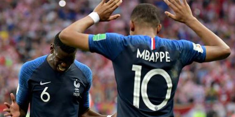 Mijlpaal voor Deschamps en Mbappé