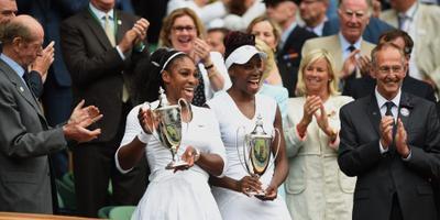 Serena Williams pakt ook titel vrouwendubbel