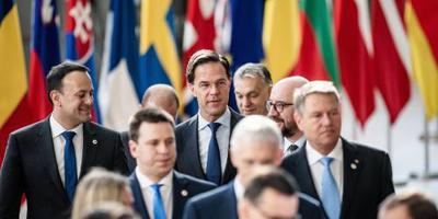 Eerbetoon aan slachtoffers aanslagen op EU-top