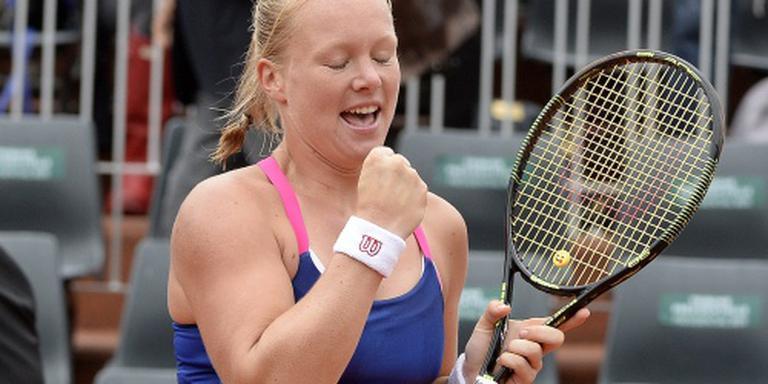 Bertens bereikt kwartfinales op Roland Garros