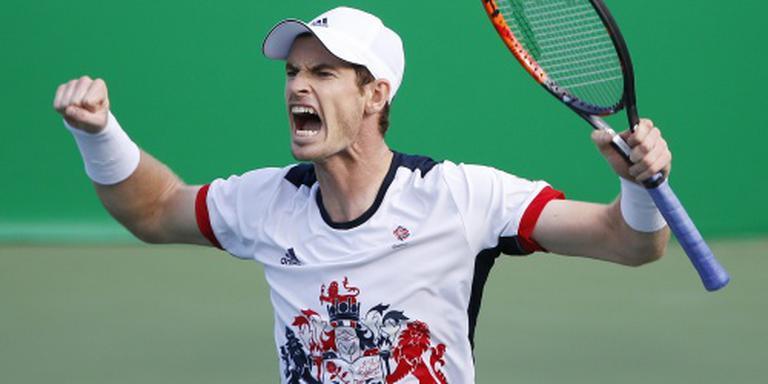 Titelverdediger Murray naar olympische finale