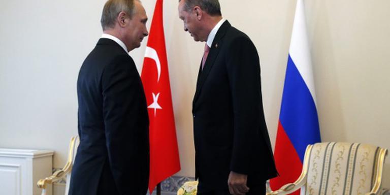 Poetin: sancties Turkije worden afgebouwd
