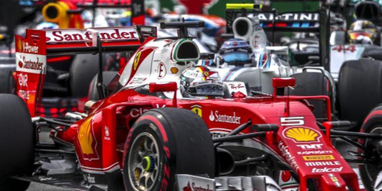 Weinig veranderingen in kalender Formule 1