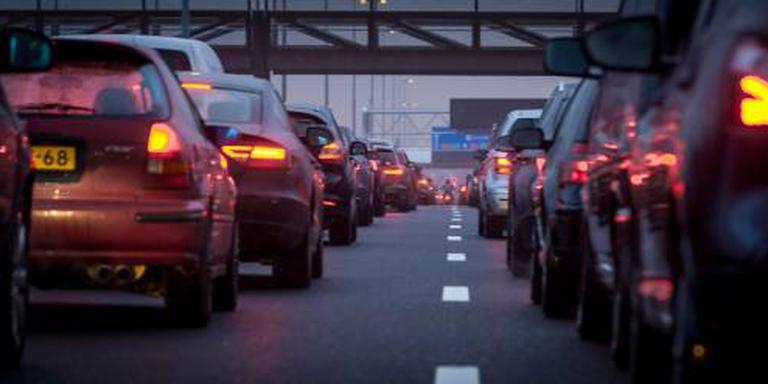 Veel vertraging op de weg door ongelukken