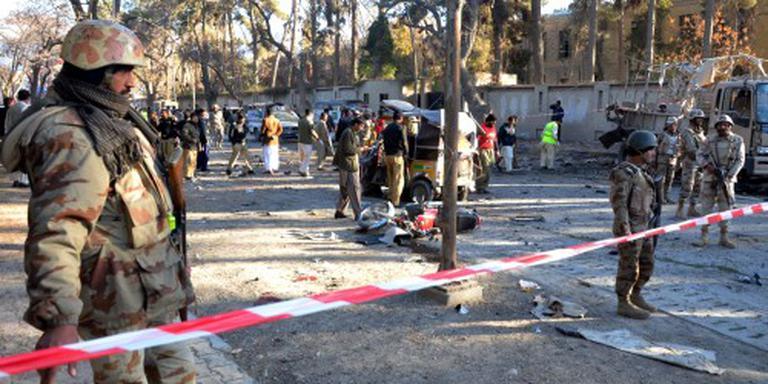 Dodelijke aanslag in zuidwesten Pakistan