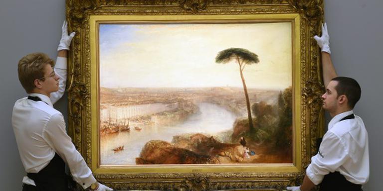 Fameuze schilder Turner is 20 pond waard