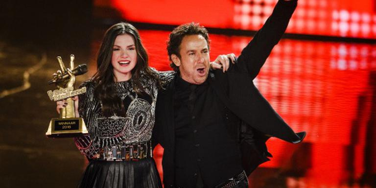 Maan wint The Voice of Holland