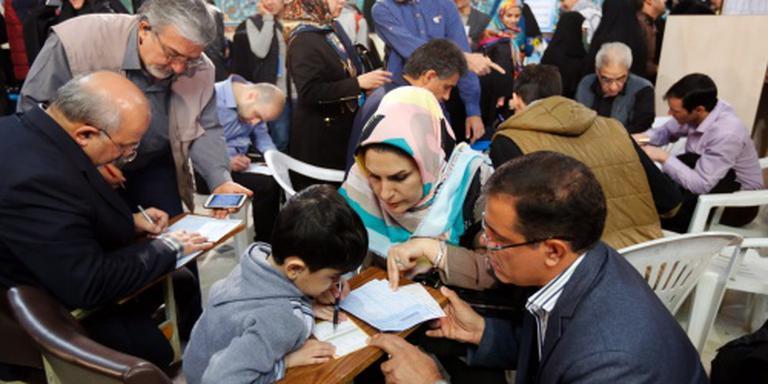 Stemmen worden geteld in Iran
