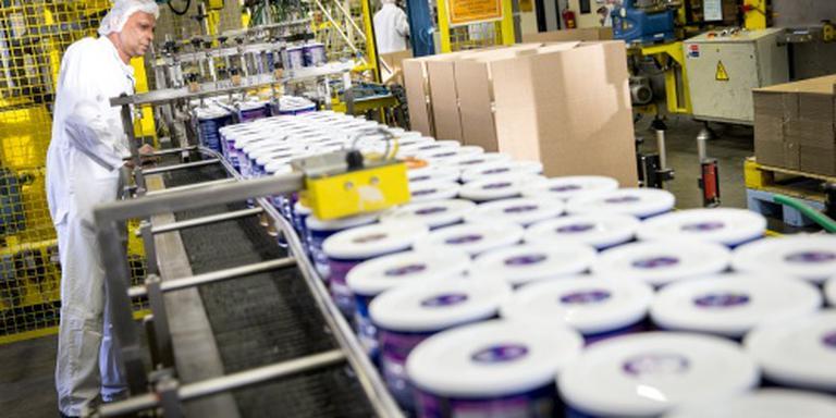 Productie industrie neemt verder toe