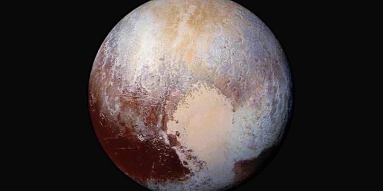 Ondergrondse oceaan op Pluto