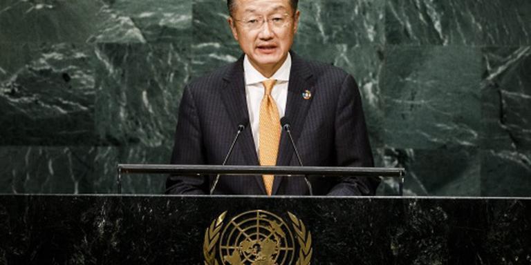 Wereldbank-president Kim blijft aan