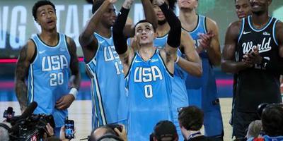 Kuzma op schoot voor Amerikaanse talenten
