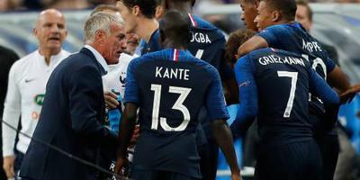 Griezmann leidt Frankrijk langs Duitsland