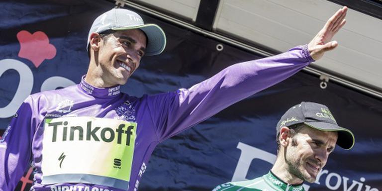 Contador tevreden over vorm richting Vuelta