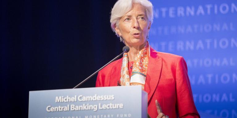 Lagarde prijst optreden Turkse centrale bank
