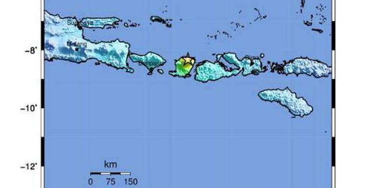 Doden na krachtige aardbeving Lombok