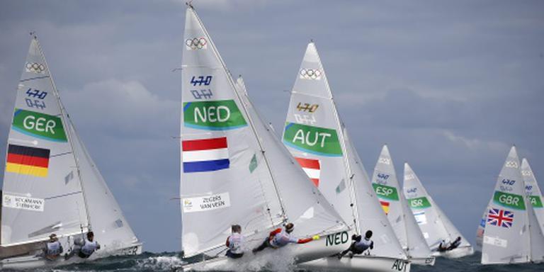 Zegers/Van Veen onbevangen medalrace in