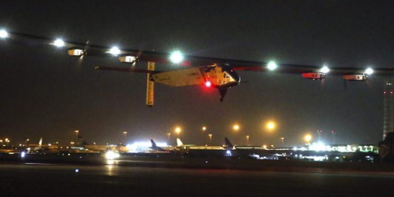 Solar Impulse landt na reis rond de wereld