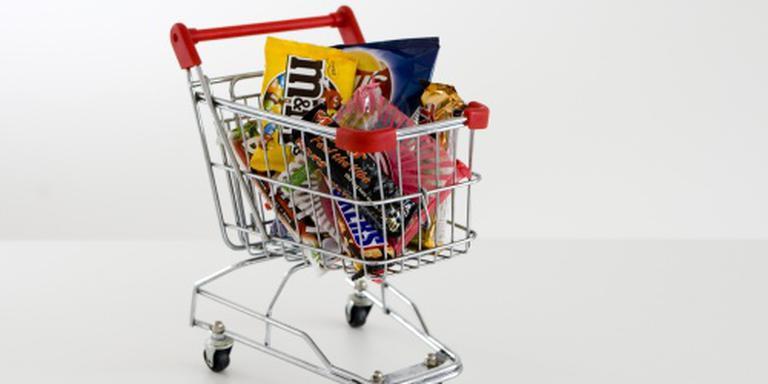 Uitgaven in supermarkt nemen licht toe