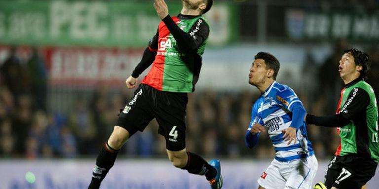 NEC en PEC Zwolle openen eredivisie