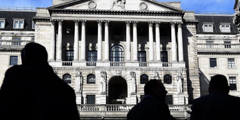 Britse centrale bank houdt rente onveranderd