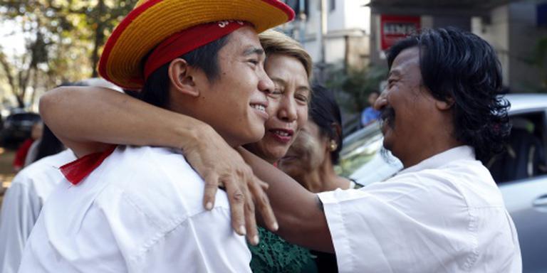 Myanmar laat politieke gevangenen vrij