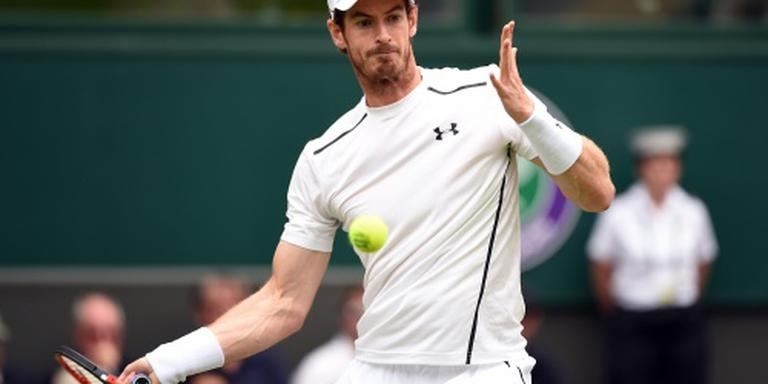 Murray zonder problemen langs Broady