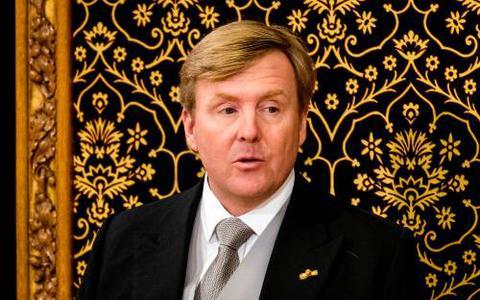 Koning: in hart en gedachten bij Sint-Maarten